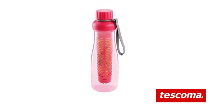 Láhev s vyluhováním myDRINK 0.7 l, růžová